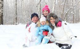 Новый год с ребенком на природе: сценарий праздника
