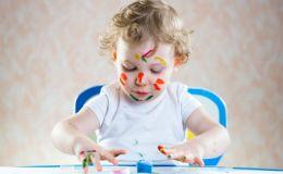 Первое творчество с малышом