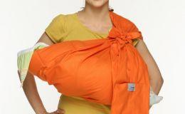 Как носить слинг под верхней одеждой