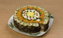 Как приготовить печеночный торт. Рецепт