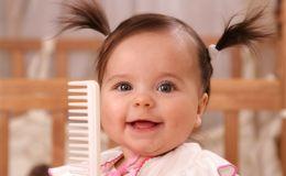 Детские праздничные прически: коса «елочка»