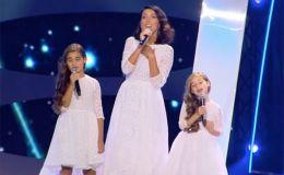 Алсу показала дочерей на сцене и спела с ними