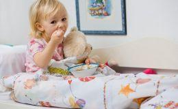 Чем кормить ребенка при гриппе?