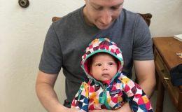 Марк Цукереберг принес дочку на вакцинацию. Фото