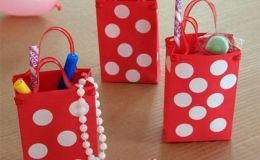 Делаем с ребенком: нарядные подарочные Минни-сумочки