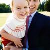 Принц Джордж получил от папы королевский подарок