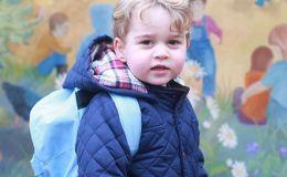 Кейт Миддлтон отправила сына в садик. Фото