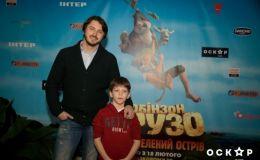 Украинские звезды с детьми появились на допремьерном показе
