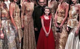 Девочка, больная раком, вышла на подиум в Нью-Йорке