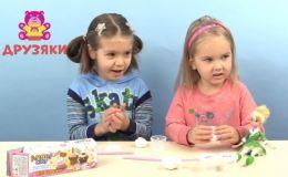 Как сделать мини-пирожные из мягкой глины Angel Clay (Видео)