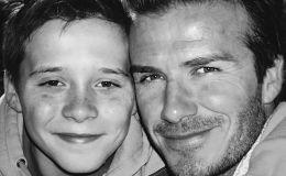 Дэвид Бекхэм поздравил сына с днем рождения