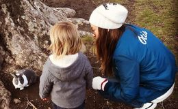 Оливия Уайлд показала, в чем ее превзошел 2-летний сын