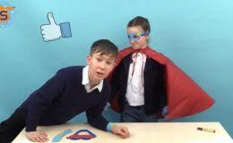 Делаем костюм Supergirl и Superman (Видео)