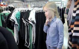 Что будет, если позволить ребенку одеть маму (Видео)