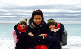 Диана Арбенина вывела своих детей на подиум