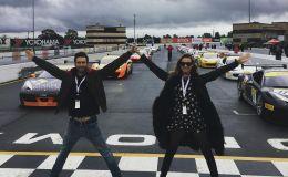 Солист Maroon 5 с беременной женой попали в ДТП