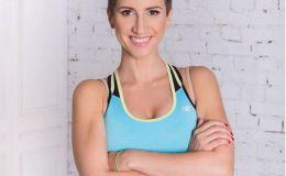 Анита Луценко на своем примере показала фитнес-упражнения для беременных