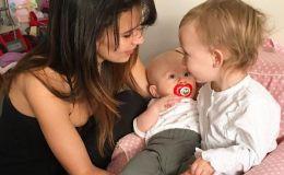 Беременная Хилари Болдуин показала, чем кормит детей