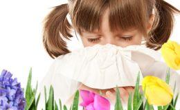 Чем опасна весна: причины и лечение поллиноза у ребенка