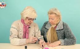 Как бабушки реагируют на модную косметику: видео-эксперимент
