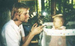 В сети опубликовано уникальное семейное фото Курта Кобейна