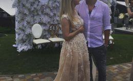 Тоня Матвиенко показала романтический вечер с любимым