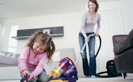 Уборка с ребенком быстро и весело — это возможно!