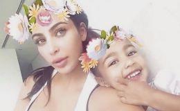 Уникальный кадр: Ким Кардашьян с детьми на пляже