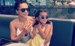 Ани Лорак показала свежее фото дочери