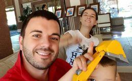Ведущий «Холостяк» показал жену и сына