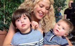 Шакира сравнила детские снимки Жерара Пике и младшего сына
