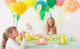 Как сделать детский день рождения еще веселее: яркие идеи декора