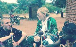 Мадонна показала фото подросших детей в Африке