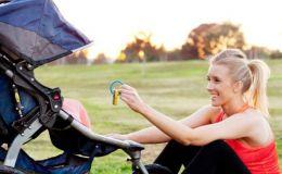 Как детскую коляску превратить в тренажер для похудения