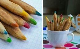 Оригинальный рецепт детского печенья: съедобные цветные карандаши (ФОТО)