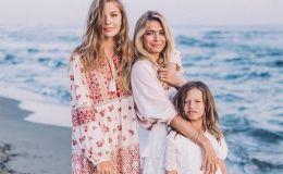Как звезды одевают своих детей: лучшие образы дочерей Веры Брежневой