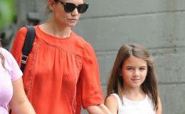 Кэти Холмс показала трогательные фото с дочкой