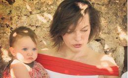 Милла Йовович показала младшую дочь