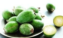 Фейхоа для похудения и очищения организма осенью: 3 полезных свойства ягоды