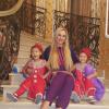 Камалия показала 3-летних дочерей-близнецов