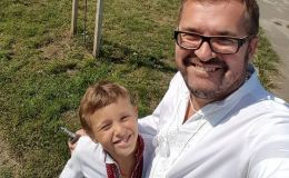 Александр Пономарев умилил новым фото с сыном