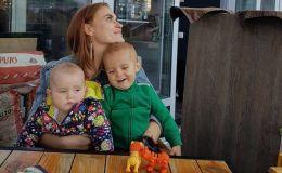 Слава Каминская показала 10-месячную дочку