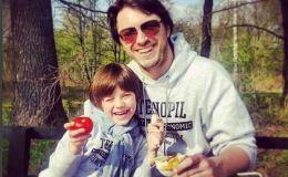 Редкий кадр: Сергей Притула показал своего сына