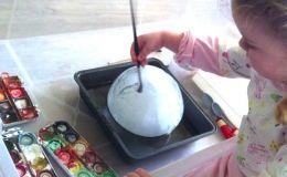 Развитие мелкой моторики у ребенка: игры со льдом