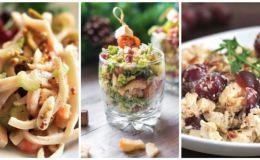 В последнюю минуту: 5 оригинальных и простых новогодних салатов