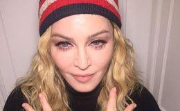 Мадонна показала всех своих детей