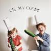 Приключения на кухне: 12 развивающих игр для ребенка