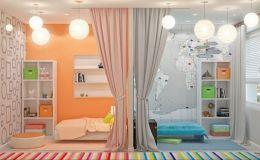 Одна на двоих: варианты дизайна детской комнаты для брата и сестры