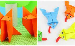Бумажное творчество: топ-5 простых вариантов оригами для ребенка