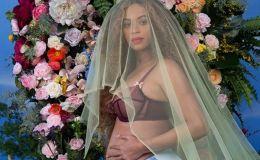 Беременная двойней Бейонсе снялась в красивой фотосессии обнаженной